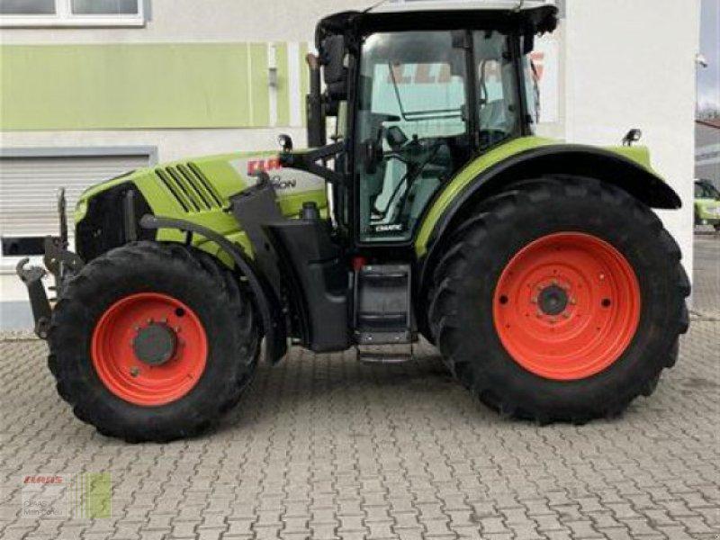 Traktor des Typs CLAAS ARION 650 CMATIC, Gebrauchtmaschine in Aurach (Bild 1)