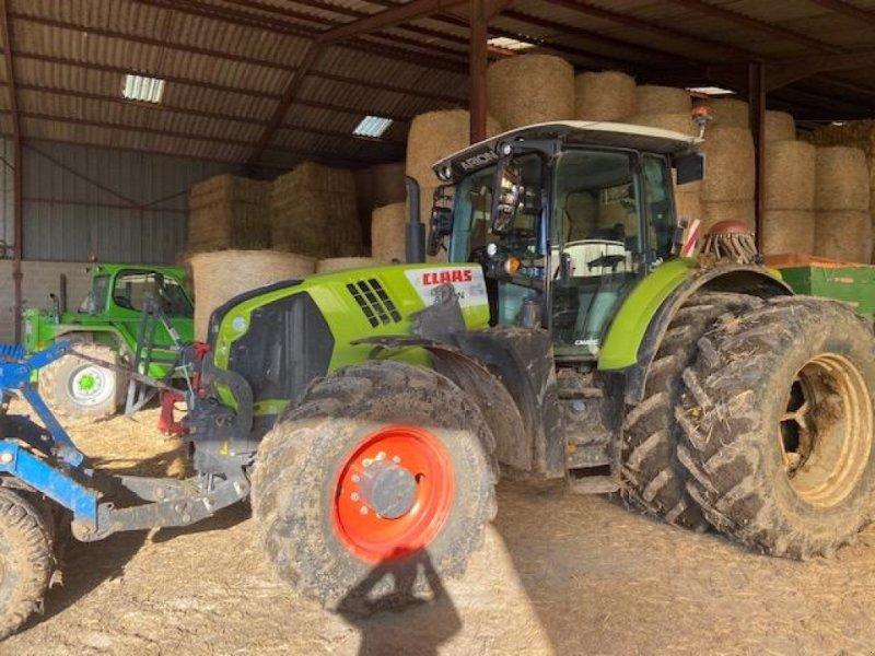 Traktor типа CLAAS ARION 650 CMATIC, Gebrauchtmaschine в CHATEAU PORCIEN (Фотография 1)