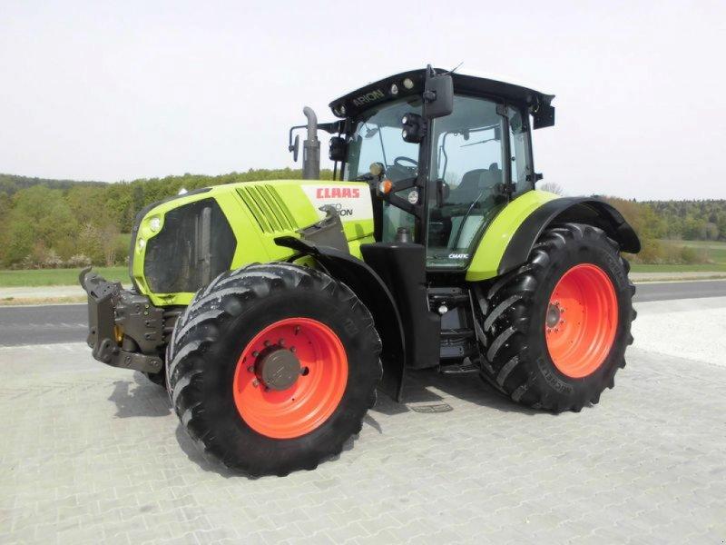 Traktor des Typs CLAAS ARION 650 CMATIC, Gebrauchtmaschine in Bad Abbach (Bild 1)
