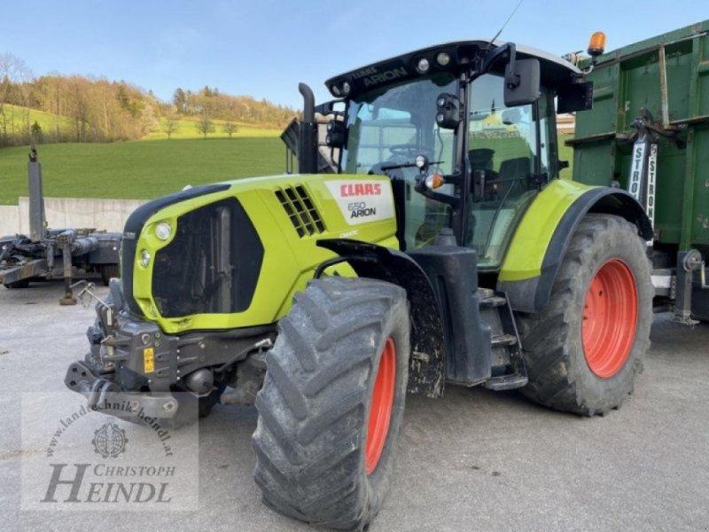 Traktor des Typs CLAAS arion 650 cmatic, Gebrauchtmaschine in STEPHANSHART (Bild 1)