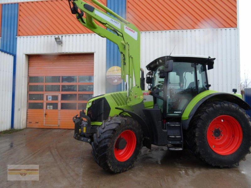 Traktor des Typs CLAAS Arion 650 CMATIC, Gebrauchtmaschine in Böklund (Bild 1)