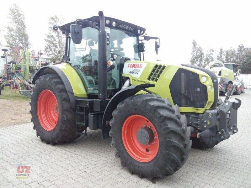 Traktor des Typs CLAAS ARION 650 CMATIC, Neumaschine in Frauenstein (Bild 6)