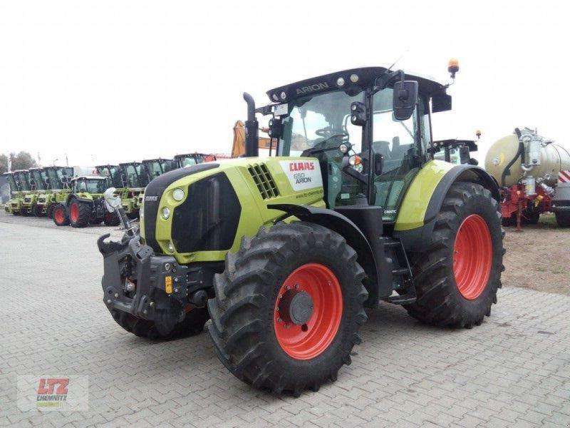 Traktor des Typs CLAAS ARION 650 CMATIC, Neumaschine in Frauenstein (Bild 1)