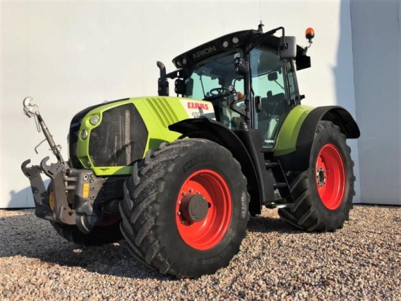 Traktor des Typs CLAAS ARION 650 CMATIC, Gebrauchtmaschine in Landsberg (Bild 1)