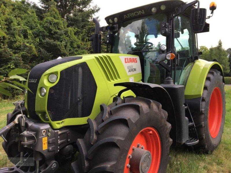Traktor des Typs CLAAS ARION 650 MIT FKH, Gebrauchtmaschine in Rauschwitz (Bild 1)