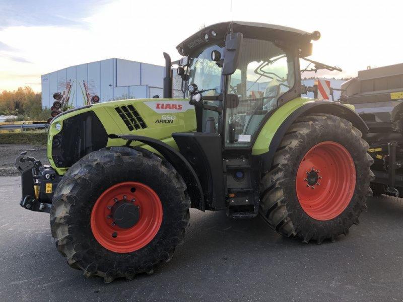 Traktor des Typs CLAAS ARION 650 ST5 6PS  CEBIS CLAAS, Vorführmaschine in Cham (Bild 1)