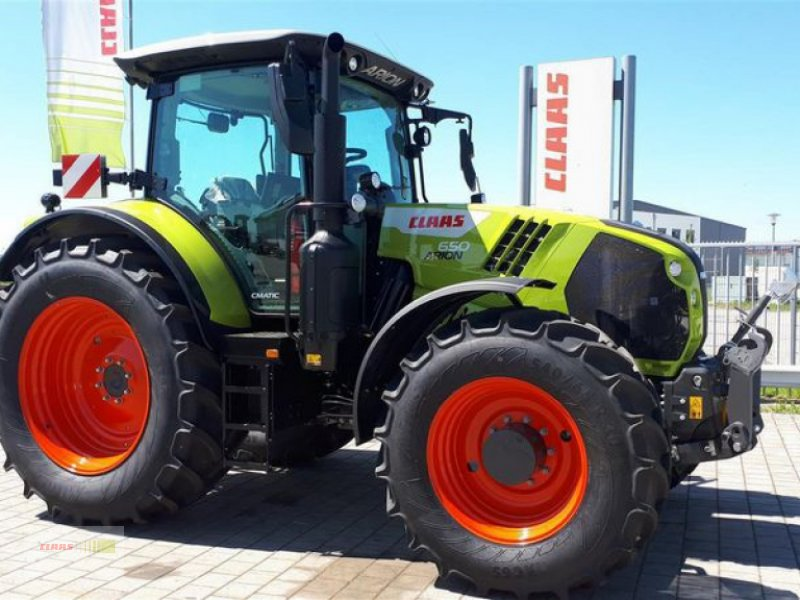Traktor типа CLAAS ARION 650 ST5 CMATIC CEBIS, Vorführmaschine в Töging am Inn (Фотография 1)