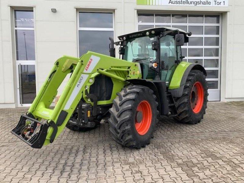 Traktor des Typs CLAAS ARION 650 T3b, Gebrauchtmaschine in Landsberg (Bild 1)