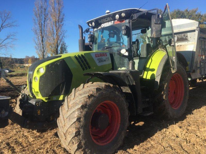 Traktor del tipo CLAAS ARION 650 T4F CEBIS, Gebrauchtmaschine en ST ELIX THEUX (Imagen 1)