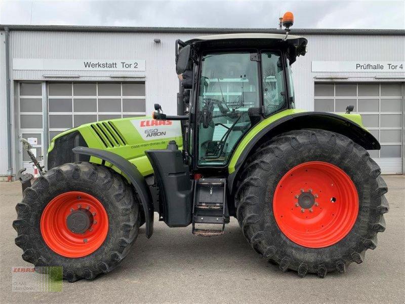 Traktor des Typs CLAAS ARION 650, Gebrauchtmaschine in Aurach (Bild 1)