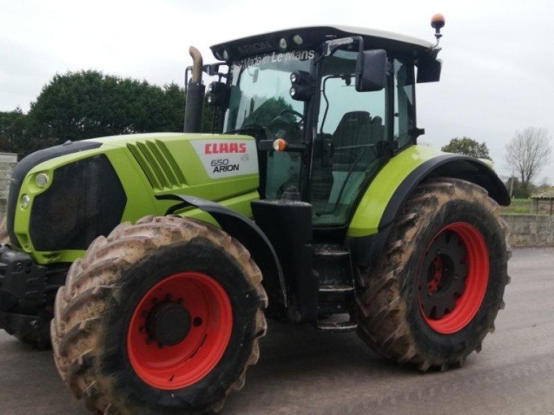 Traktor del tipo CLAAS ARION 650, Gebrauchtmaschine en PERIERS (Imagen 1)