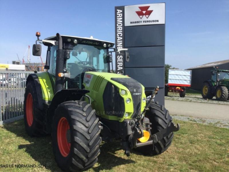 Traktor del tipo CLAAS ARION 650, Gebrauchtmaschine en LANDIVISIAU (Imagen 1)