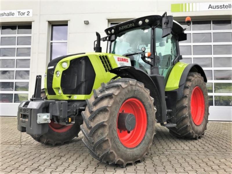 Traktor des Typs CLAAS ARION 650, Gebrauchtmaschine in Landsberg (Bild 1)