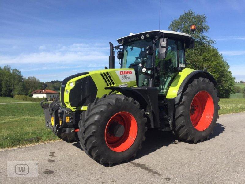 Traktor des Typs CLAAS Arion 660 CEBIS CMATIC, Vorführmaschine in Zell an der Pram (Bild 1)