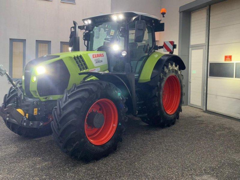 Traktor des Typs CLAAS Arion 660 CEBIS CMATIC, Vorführmaschine in Harmannsdorf-Rückersdorf (Bild 1)