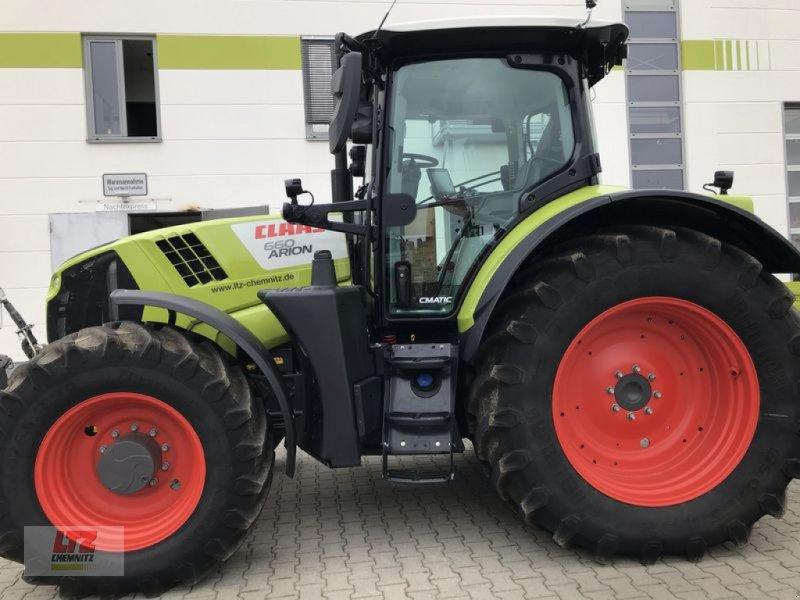 Traktor des Typs CLAAS ARION 660 CMATIC  CEBIS CLAAS, Neumaschine in Hartmannsdorf (Bild 1)