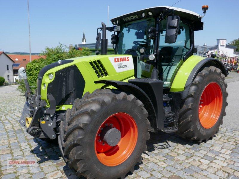 Traktor типа CLAAS ARION 660 CMATIC CEBIS TRIMBLE RTK, Gebrauchtmaschine в Dorfen (Фотография 1)