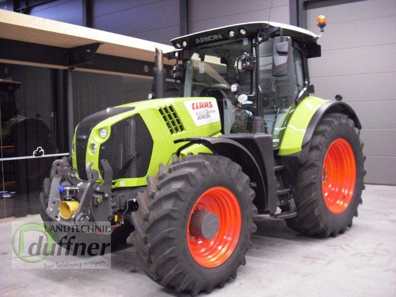 Traktor des Typs CLAAS ARION 660 CMATIC CEBIS, Gebrauchtmaschine in Hohentengen (Bild 1)