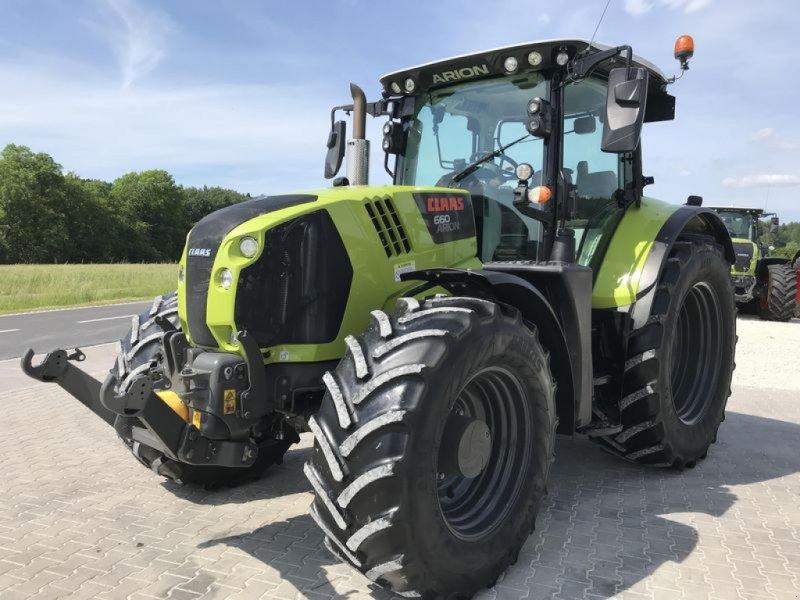 Traktor des Typs CLAAS ARION 660 CMATIC CEBIS, Gebrauchtmaschine in Birgland (Bild 1)