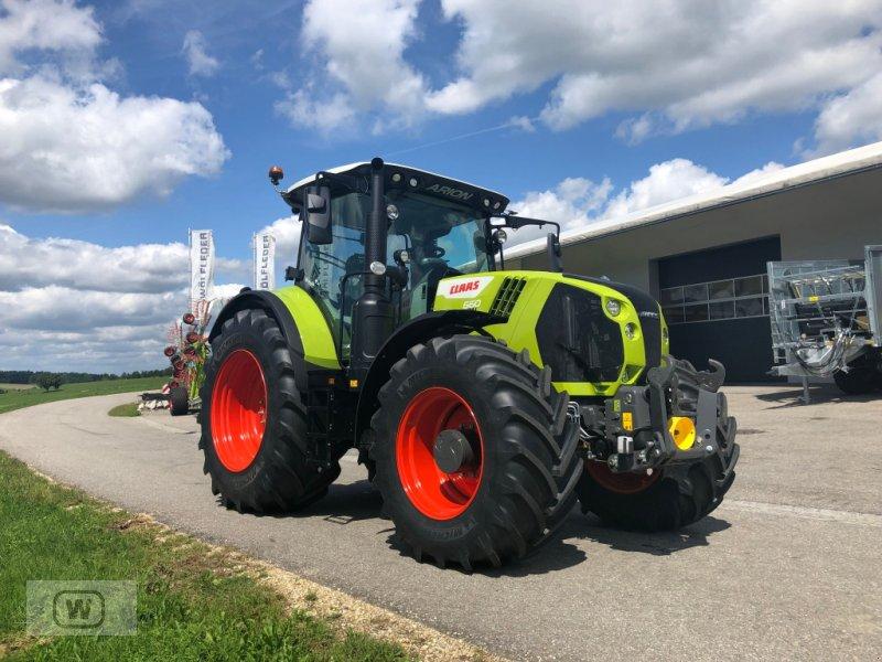 Traktor des Typs CLAAS ARION 660 CMATIC CEBIS, Neumaschine in Zell an der Pram (Bild 1)