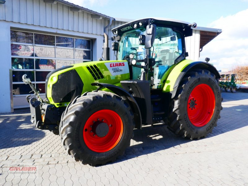 Traktor typu CLAAS ARION 660 CMATIC CEBIS, Gebrauchtmaschine w Dorfen (Zdjęcie 1)