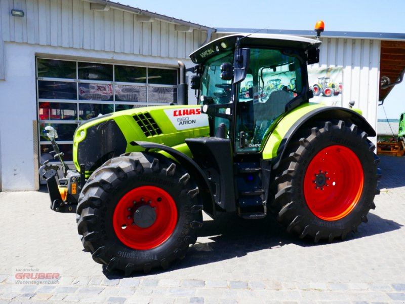 Traktor des Typs CLAAS ARION 660 CMATIC CEBIS, Gebrauchtmaschine in Dorfen (Bild 1)