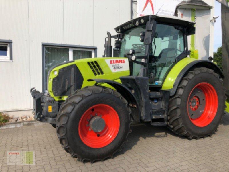 Traktor a típus CLAAS ARION 660 CMATIC CEBIS, Gebrauchtmaschine ekkor: Weddingstedt (Kép 1)