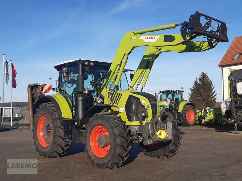Traktor des Typs CLAAS Arion 660 Cmatic CIS+ Frontlader FL 150, Gebrauchtmaschine in Langenwetzendorf (Bild 1)