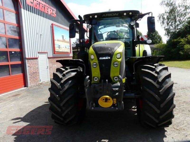 Traktor des Typs CLAAS ARION 660 CMATIC S V, Gebrauchtmaschine in Suhlendorf (Bild 8)
