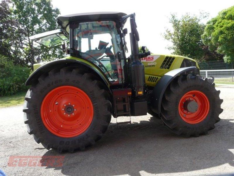 Traktor des Typs CLAAS ARION 660 CMATIC S V, Gebrauchtmaschine in Suhlendorf (Bild 7)