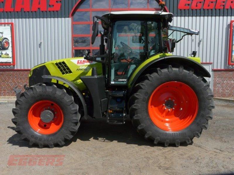 Traktor des Typs CLAAS ARION 660 CMATIC S V, Gebrauchtmaschine in Suhlendorf (Bild 1)