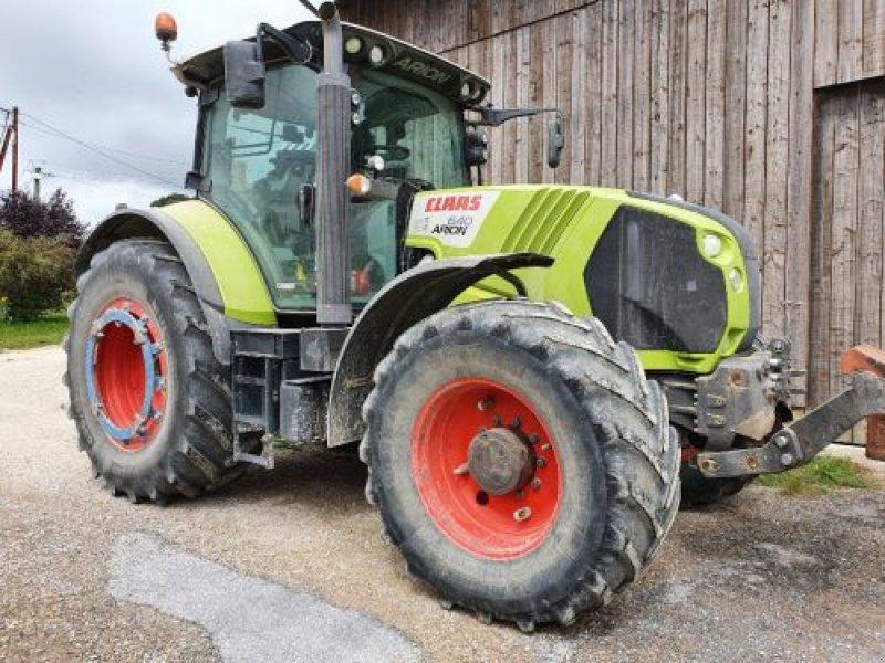 Traktor типа CLAAS ARION640T4CE, Gebrauchtmaschine в Sainte Menehould (Фотография 1)