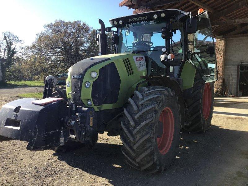 Traktor a típus CLAAS ARION650, Gebrauchtmaschine ekkor: MONDAVEZAN (Kép 1)