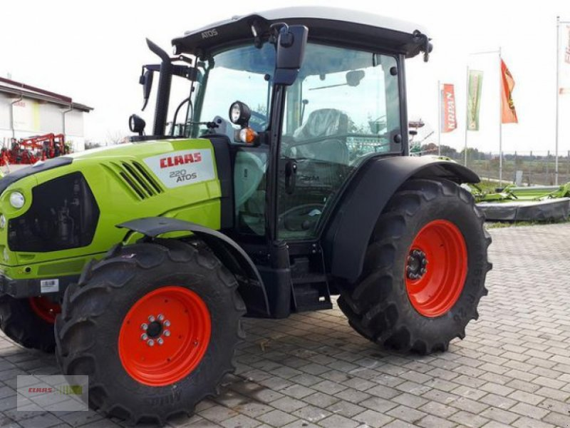 Traktor des Typs CLAAS ATOS 220 MR C, Vorführmaschine in Töging am Inn (Bild 4)