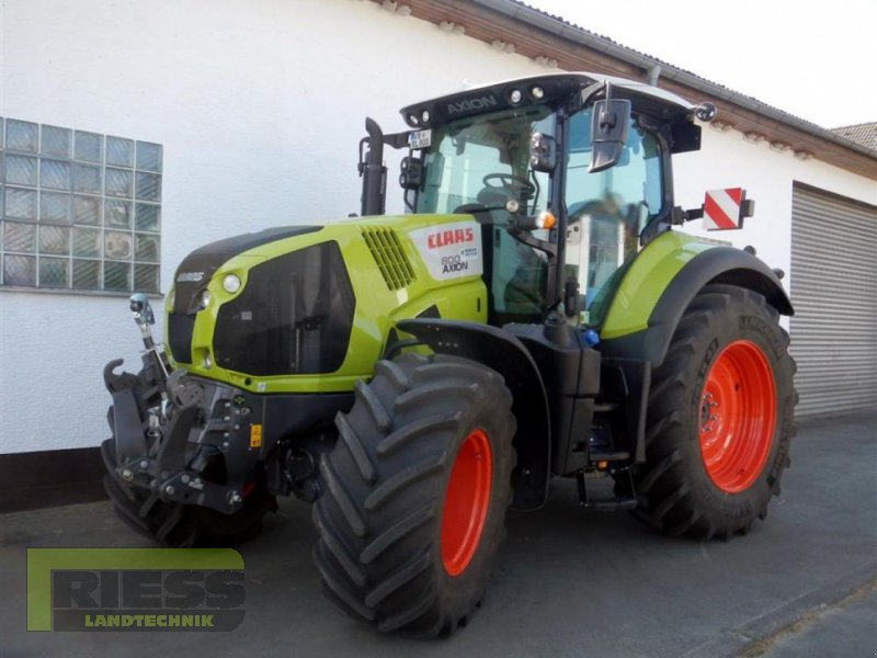 Traktor a típus CLAAS AXION 800 CIS +, Gebrauchtmaschine ekkor: Homberg (Ohm) - Maulbach (Kép 1)