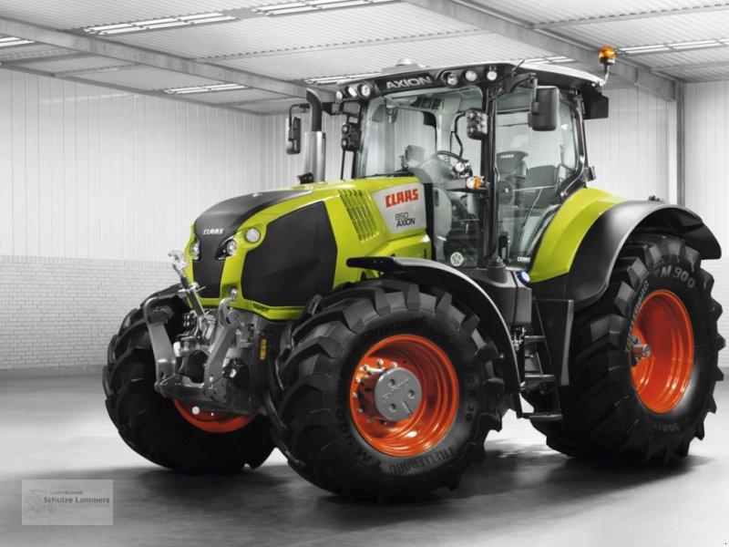Traktor des Typs CLAAS Axion 800 FH FZW, Gebrauchtmaschine in Borken (Bild 1)
