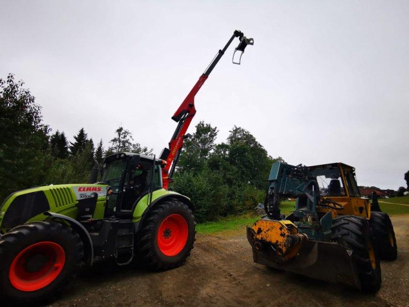 Traktor типа CLAAS Axion 810 C-MATIC, Gebrauchtmaschine в Meßstetten (Фотография 1)