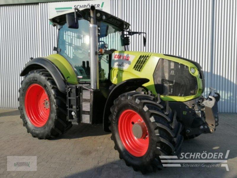 Traktor типа CLAAS AXION 810 CEBIS, Gebrauchtmaschine в Wildeshausen (Фотография 1)