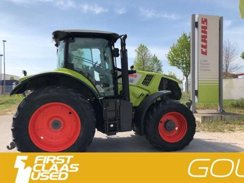 Traktor типа CLAAS AXION 810 CIS; A40, Gebrauchtmaschine в Langenau (Фотография 9)