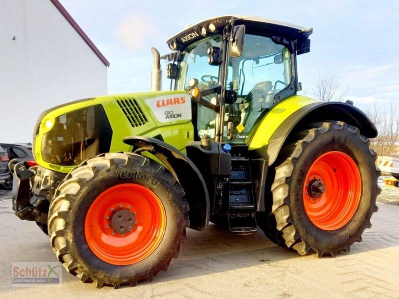Traktor a típus CLAAS Axion 810 cmatic, Bj. 2016, neues Vorderachsmodell, Gebrauchtmaschine ekkor: Schierling (Kép 1)