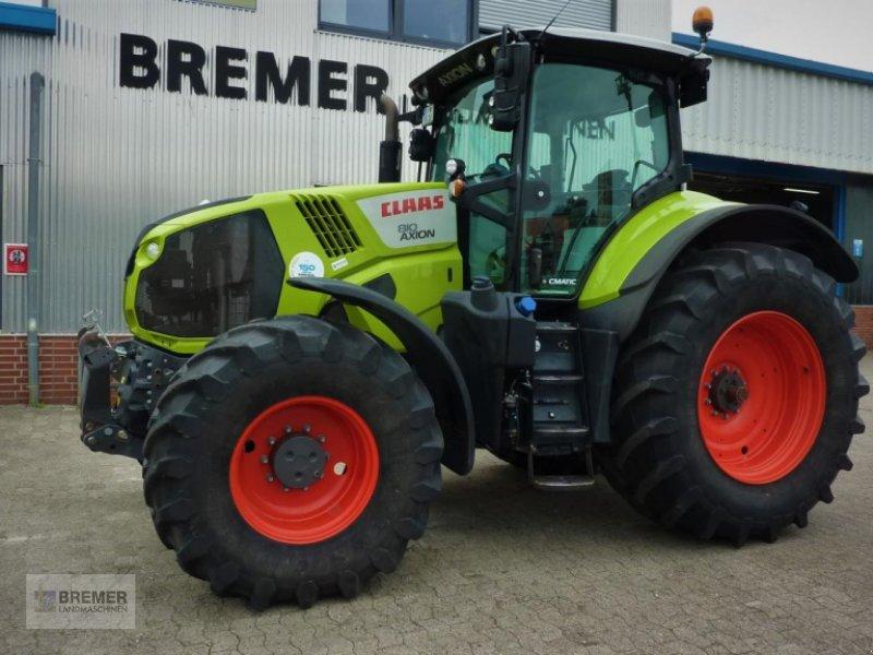 Traktor des Typs CLAAS AXION 810 CMATIC -BUSINESS-LINE- CEBIS, GPS-ready! Frontzapfwelle, Gebrauchtmaschine in Asendorf (Bild 1)