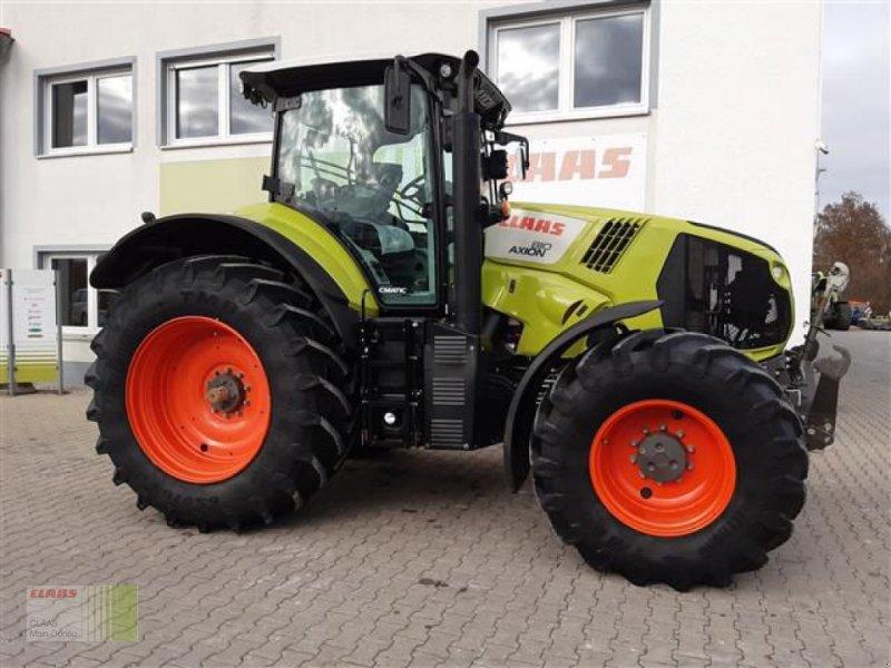 Traktor типа CLAAS AXION 810 CMATIC CEBIS, Gebrauchtmaschine в Aurach (Фотография 1)