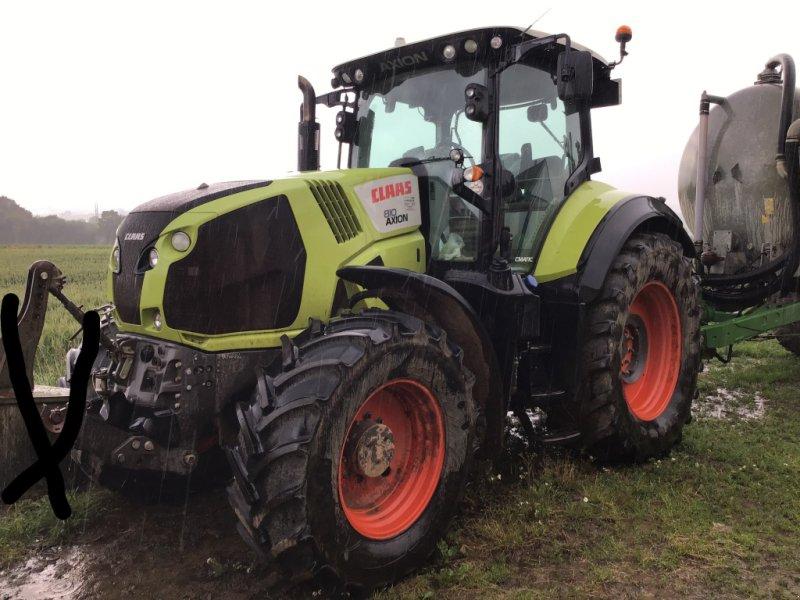 Traktor типа CLAAS AXION 810 CMATIC, Gebrauchtmaschine в Bourg-Blanc (Фотография 1)