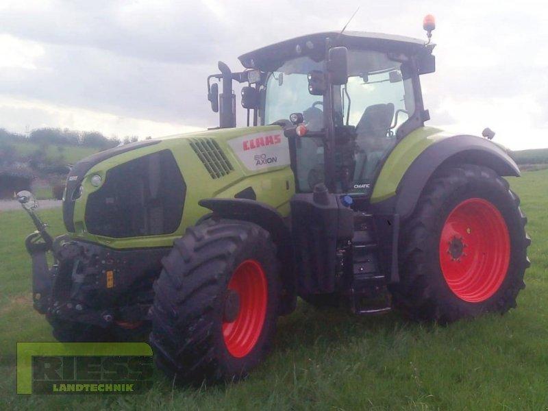 Traktor типа CLAAS AXION 810 CMATIC, Gebrauchtmaschine в Homberg (Ohm) - Maulbach (Фотография 1)