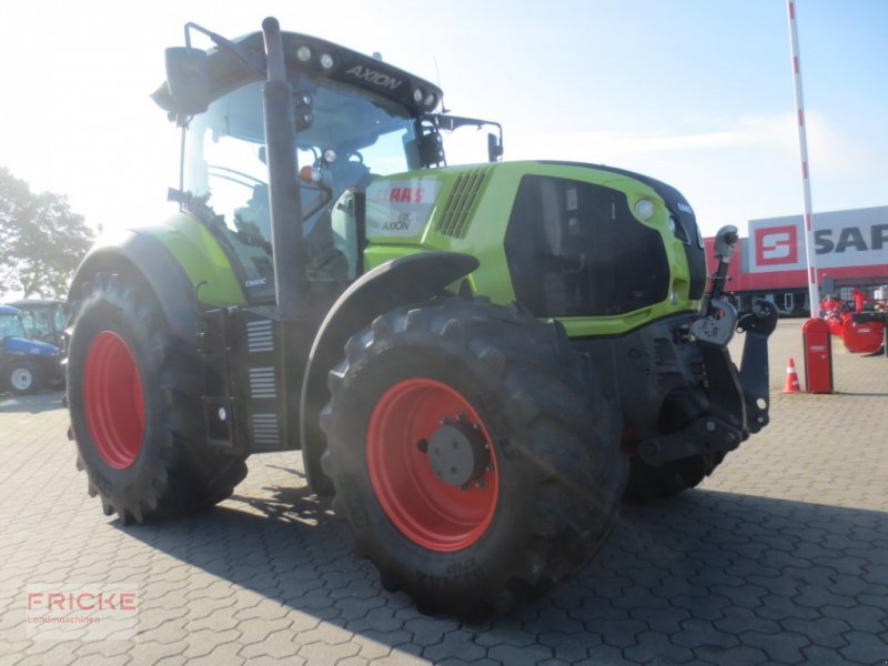 Traktor типа CLAAS Axion 810, Gebrauchtmaschine в Bockel - Gyhum (Фотография 1)