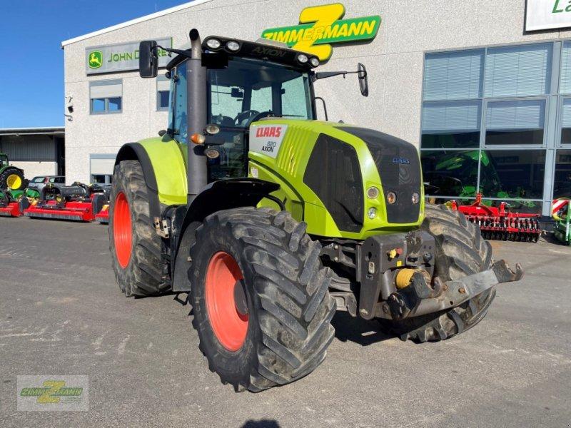 Traktor типа CLAAS Axion 820 C-Matic + RTK-Lenksystem, Gebrauchtmaschine в Euskirchen (Фотография 1)