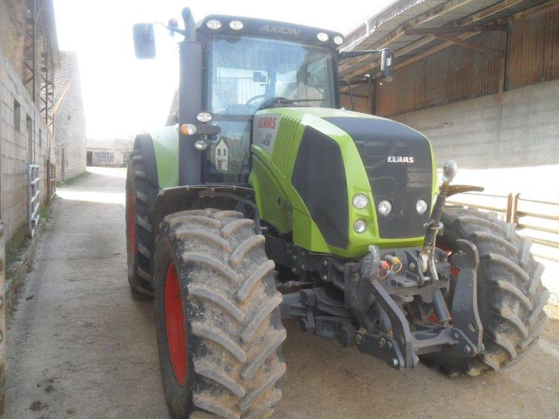 Traktor a típus CLAAS AXION 820, Gebrauchtmaschine ekkor: CHAMPLECY (Kép 1)