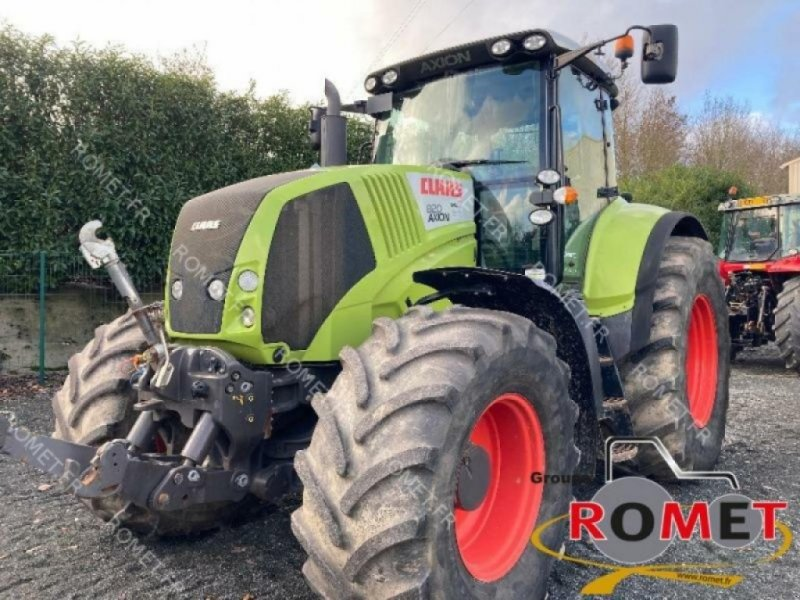 Traktor типа CLAAS axion 820, Gebrauchtmaschine в GENNES-SUR-GLAIZE (Фотография 1)