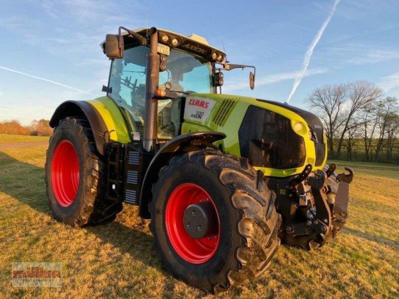 Traktor des Typs CLAAS Axion 830 C Matic, Gebrauchtmaschine in Holzhausen (Bild 1)