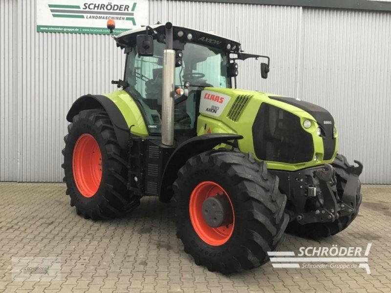 Traktor типа CLAAS AXION 830 C-MATIC, Gebrauchtmaschine в Wildeshausen (Фотография 1)
